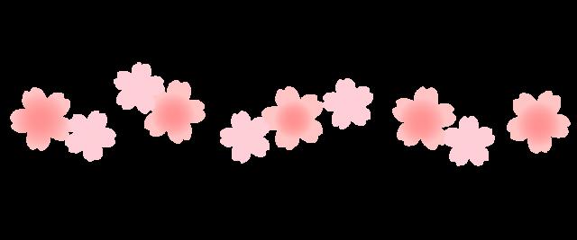 「桜 ライン イラスト」の画像検索結果