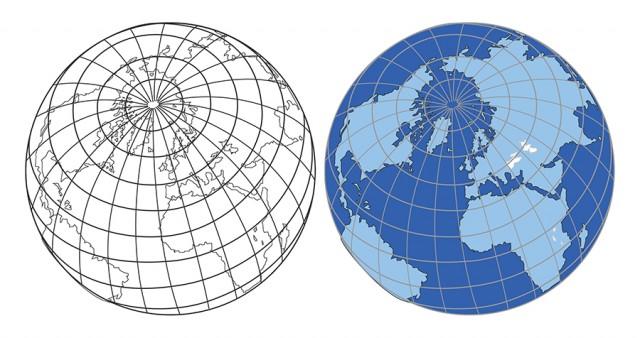 地球earth4線のイラスト 無料イラスト素材素材ラボ