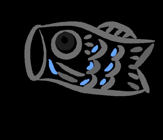 筆タッチの鯉のぼりのイラスト 無料イラスト素材素材ラボ