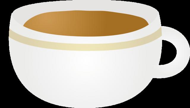 カフェオレのイラスト 無料イラスト素材素材ラボ