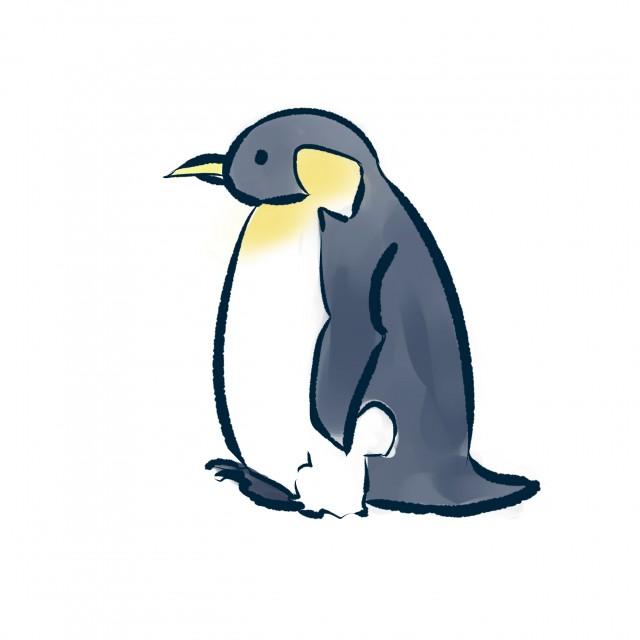 ペンギン 無料イラスト素材素材ラボ
