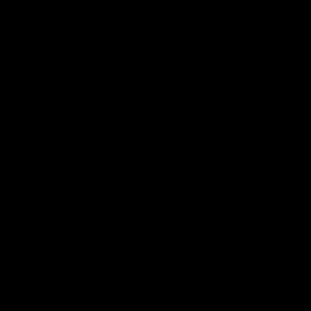 四つ葉のクローバーモノクロフレームのイラスト 無料イラスト素材