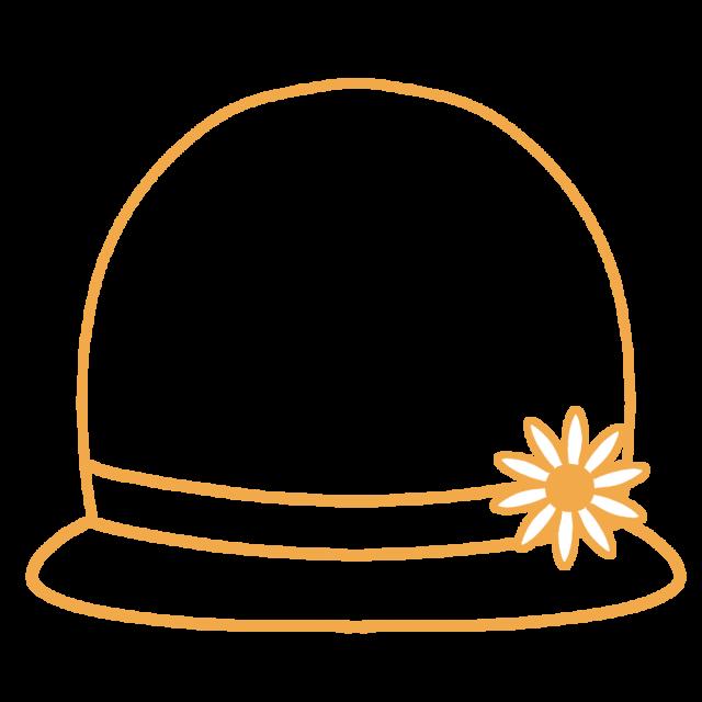 麦わら帽子フレームのイラスト 無料イラスト素材素材ラボ