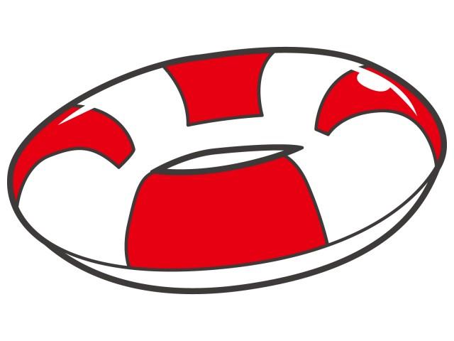 浮き輪 無料イラスト素材素材ラボ