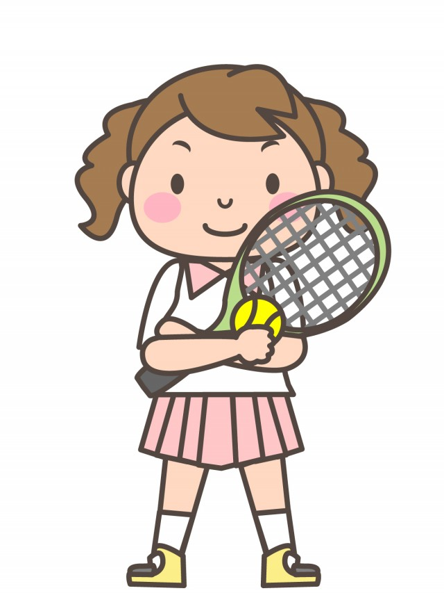 テニス ラケット イラスト