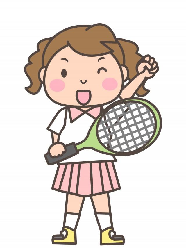 女子テニス部 ラ…