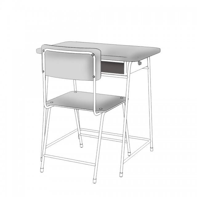 学校の教室 机 椅子 黒板 無料イラスト素材素材ラボ