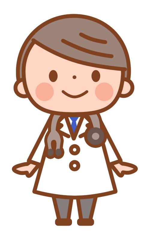 かわいいお医者さん 無料イラスト素材 素材ラボ