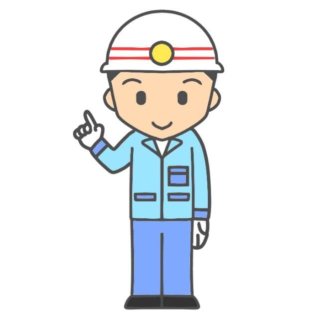 無料イラスト素材:指さしポーズの救急救命士のイラスト