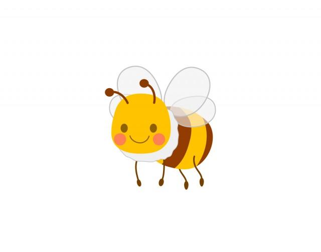 ミツバチ4 無料イラスト素材 素材ラボ