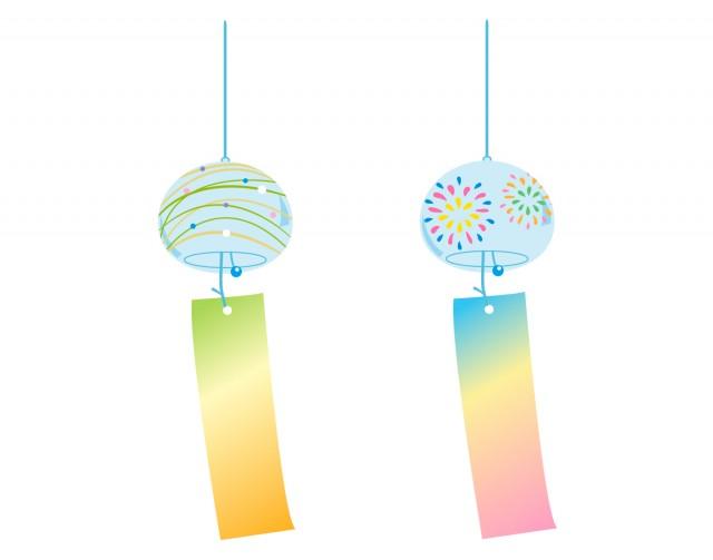 風鈴1 無料イラスト素材 素材ラボ