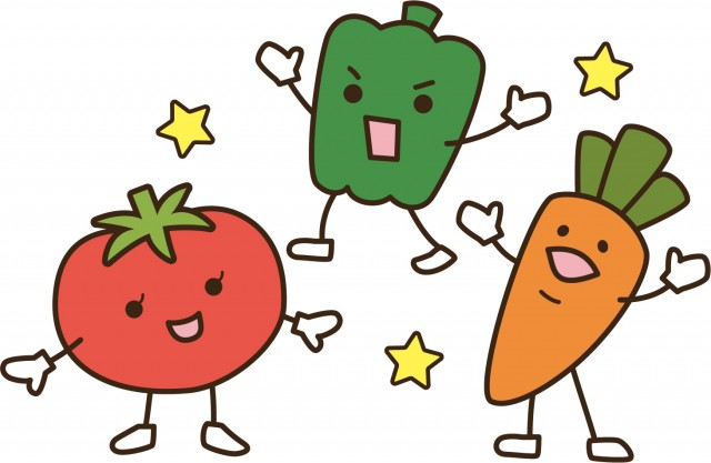 お野菜色々 無料イラスト素材素材ラボ