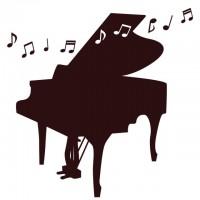 グランドピアノ かわいい無料イラスト使える無料雛形テンプレート