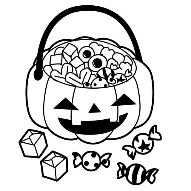 ハロウィンのお菓子のイラスト 無料イラスト素材素材ラボ