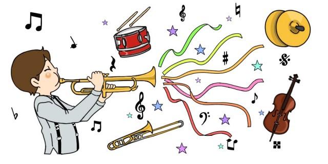 音楽会2 色々な楽器 イラスト 無料イラスト素材 素材ラボ