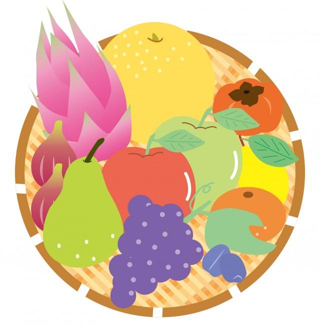 秋の果物イラスト 無料イラスト素材素材ラボ
