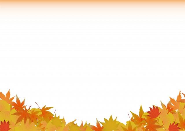 落ち葉の背景 無料イラスト素材 素材ラボ