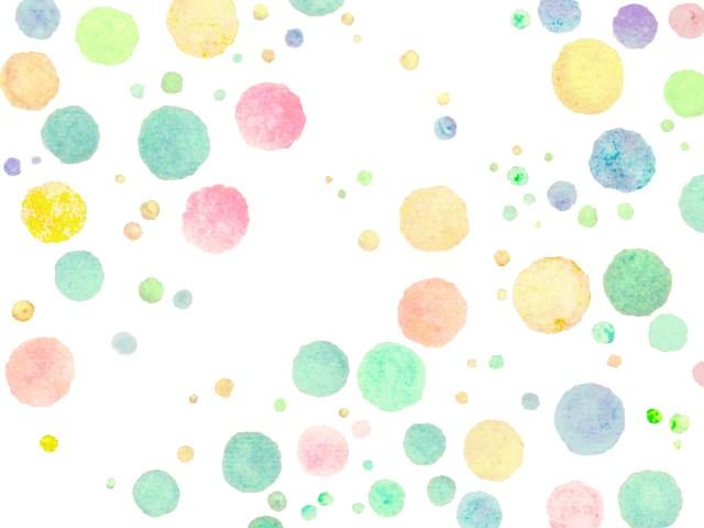 手描きドット柄イラスト水玉模様の背景壁紙 無料イラスト素材素材ラボ
