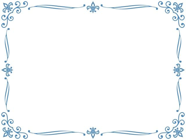 クラシックなレトロフレーム アンティーク調飾り枠素材 無料