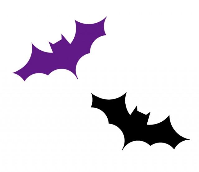 蝙蝠コウモリのハロウィンイラスト 無料イラスト素材素材ラボ