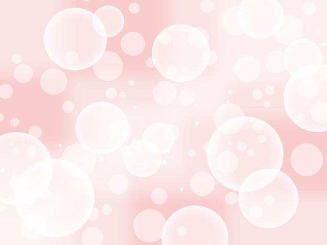 幻想的な水玉模様の壁紙バブル柄背景素材イラスト 無料イラスト素材