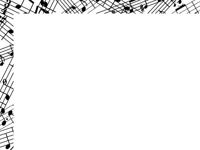 音符フレーム 楽譜のシンプルな飾り枠素材 無料イラスト素材 素材ラボ