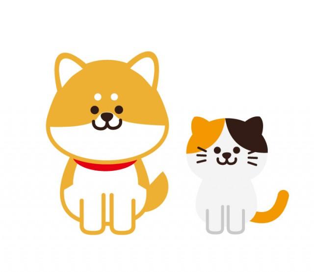 犬と猫動物ペットのイラスト 無料イラスト素材素材ラボ