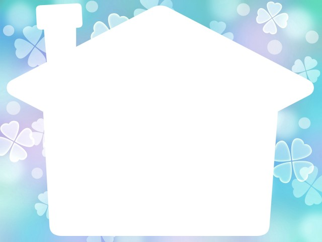 家形フレームシンプルな風景イラスト飾り枠 無料イラスト素材素材ラボ