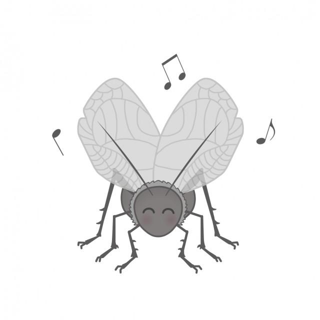 昆虫のイラストスズムシ 無料イラスト素材素材ラボ