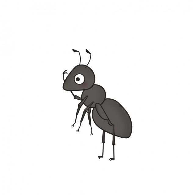 昆虫のイラストアリ 無料イラスト素材素材ラボ