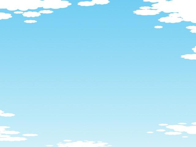 空の壁紙フレーム風景イラスト背景素材 無料イラスト素材素材ラボ