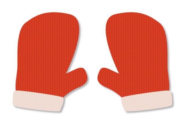 ミトンの手袋のイラスト 無料イラスト素材素材ラボ