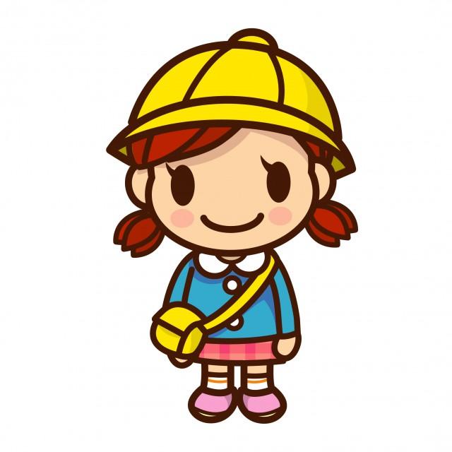 幼稚園児の女の子 無料イラスト素材 素材ラボ