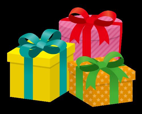 プレゼントボックス 無料イラスト素材素材ラボ