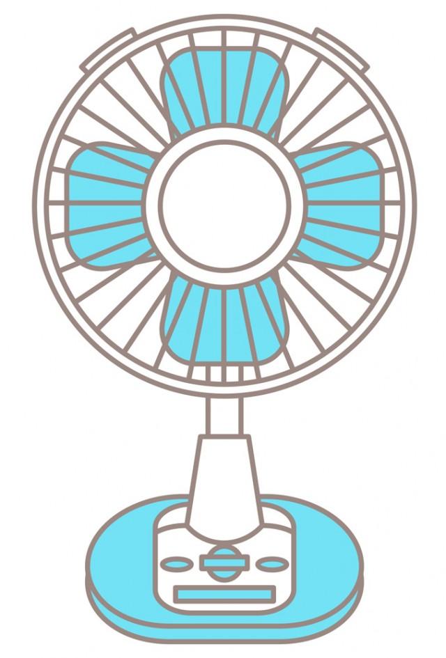 扇風機 無料イラスト素材素材ラボ