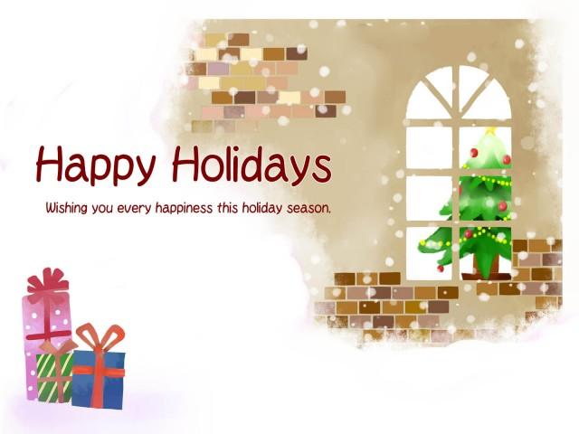 クリスマスの風景 無料イラスト素材素材ラボ