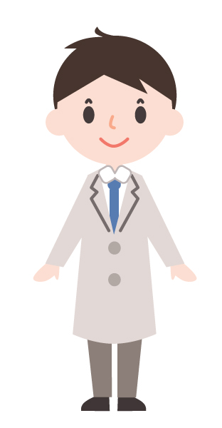 かわいいお医者さん 通常 無料イラスト素材 素材ラボ