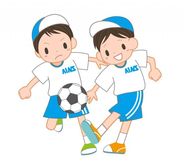 サッカー部員・少…