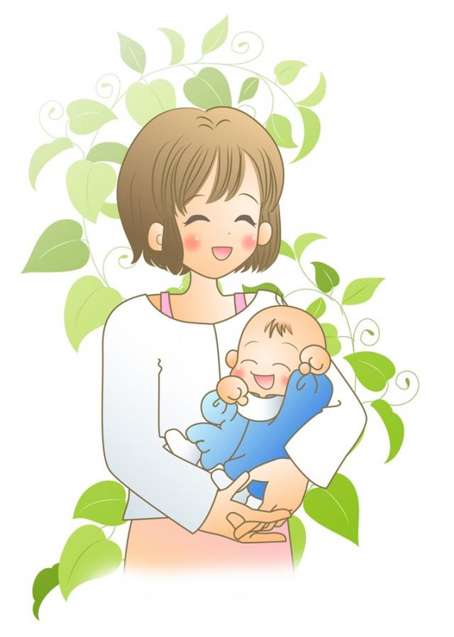ママと赤ちゃん 無料イラスト素材素材ラボ
