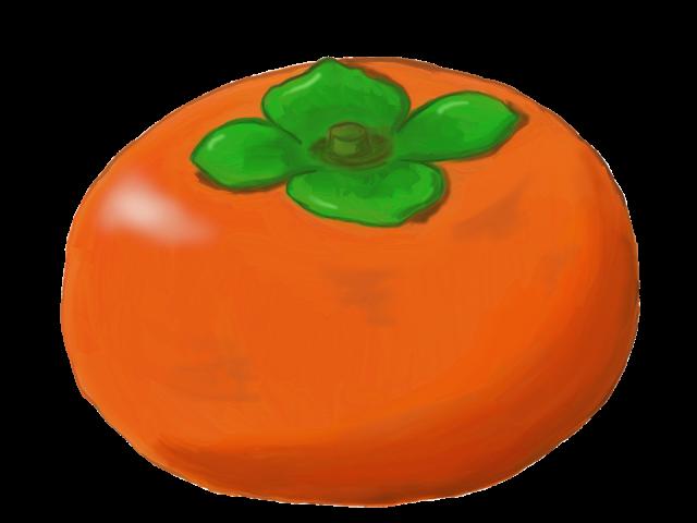 柿 無料イラスト素材素材ラボ