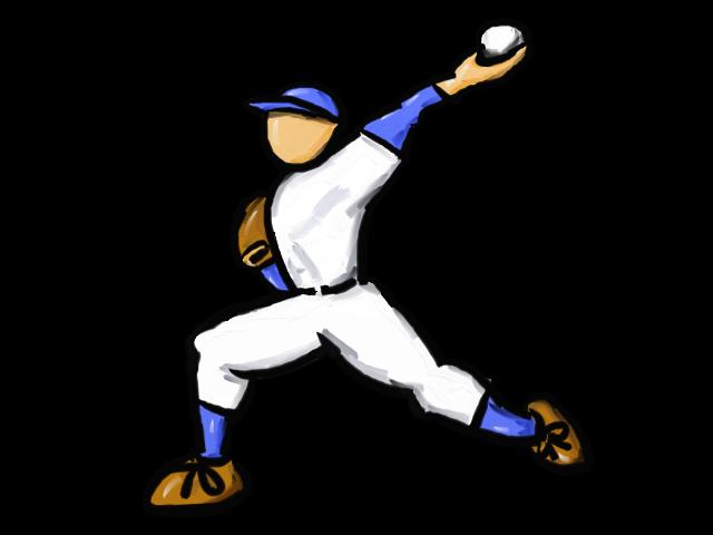 「無料イラスト 著作権フリー 野球」の画像検索結果