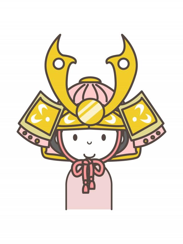 兜をかぶる女の子 無料イラスト素材素材ラボ