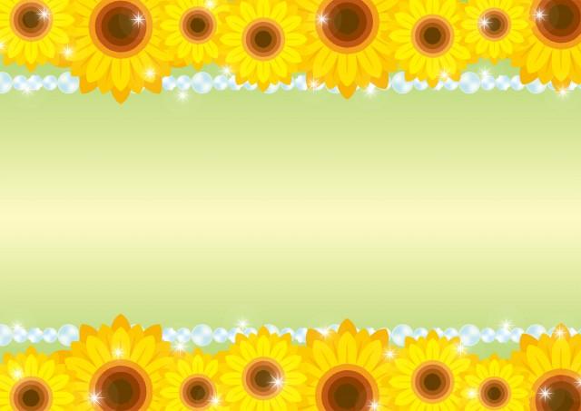 向日葵壁紙 無料イラスト素材 素材ラボ