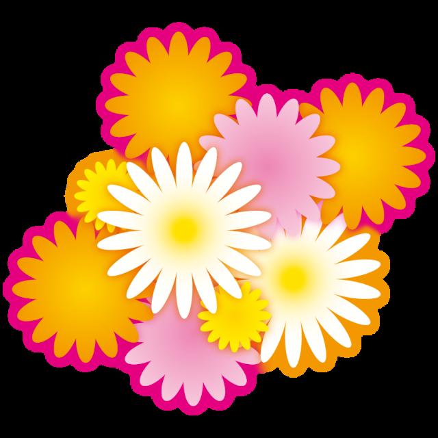 きれいな花 ガーベラ フラワー 無料イラスト素材 素材ラボ