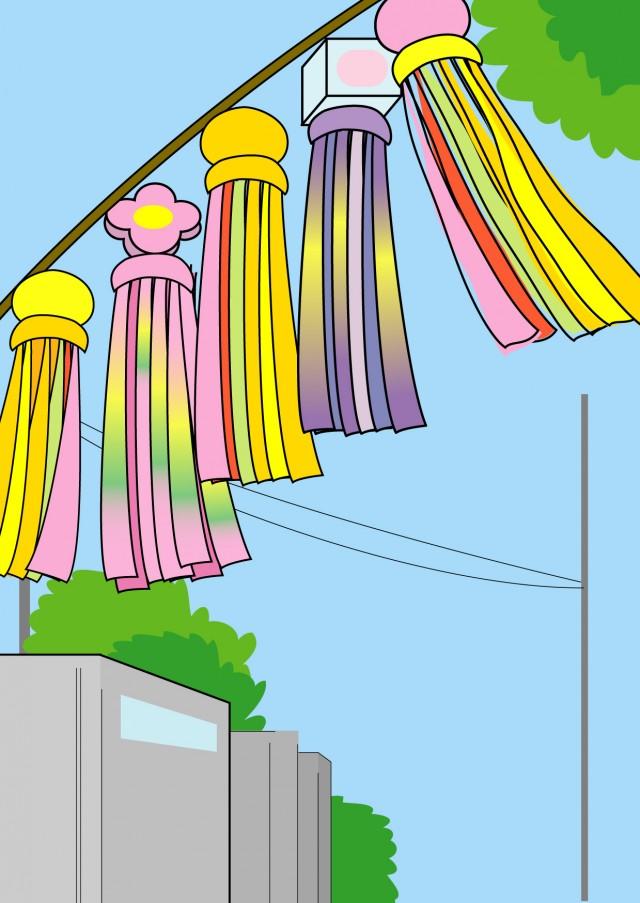 七夕祭り 無料イラスト素材素材ラボ