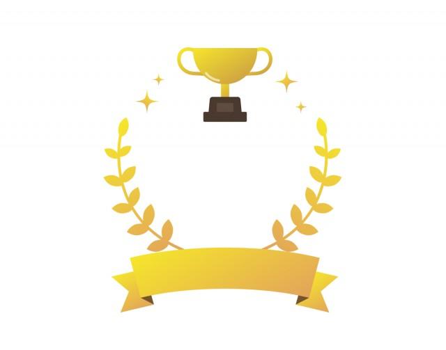 トロフィー優勝カップ3 無料イラスト素材素材ラボ