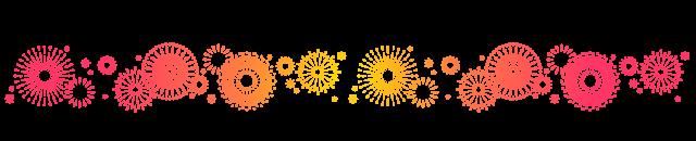花火のイラストのライン | 無料イラスト素材|素材ラボ