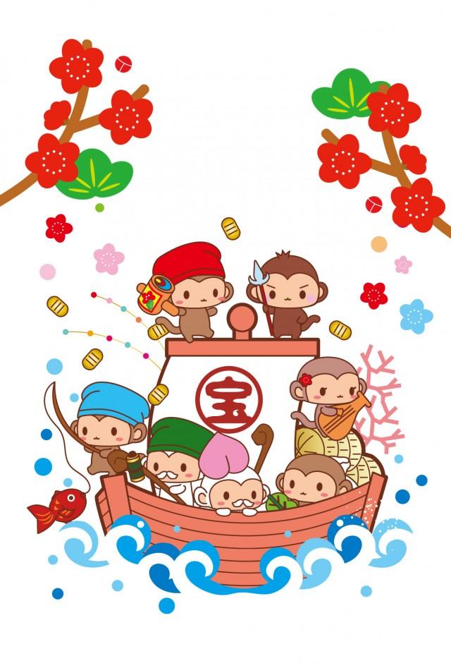 七福神 イラスト素材 1649735 フォトライブラリー Photolibrary