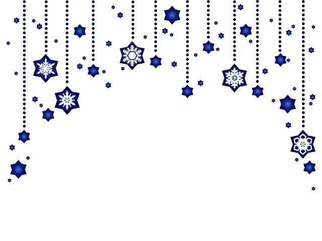 雪と星のオーナメ…