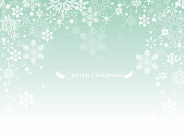 雪のクリスマスカ…